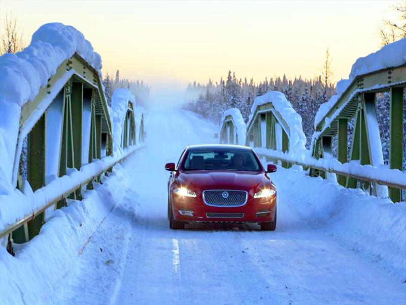 Jaguar XJ llega a la urbe más fria del mundo