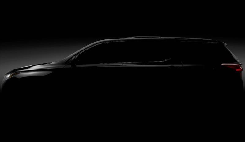 Chevrolet presenta la segunda generación de la Traverse