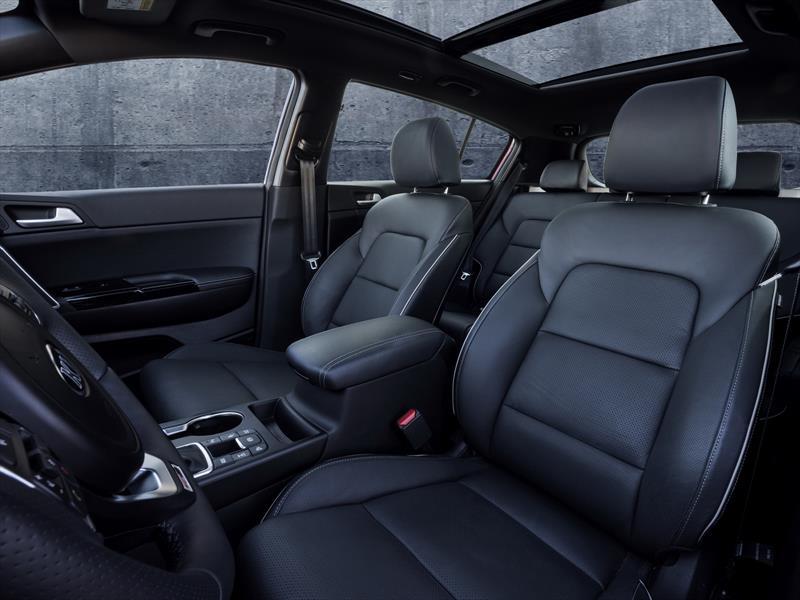 Kia Sportage 2017, primeras imágenes del interior