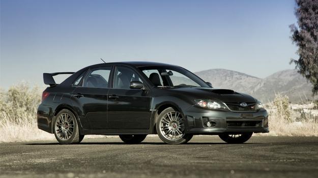 Subaru Impreza WRX STi sedán 2011 a prueba