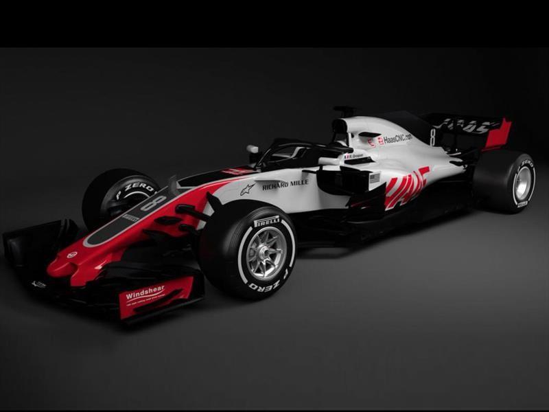 Haas VF-18, el primer monoplaza de la temporada 2018