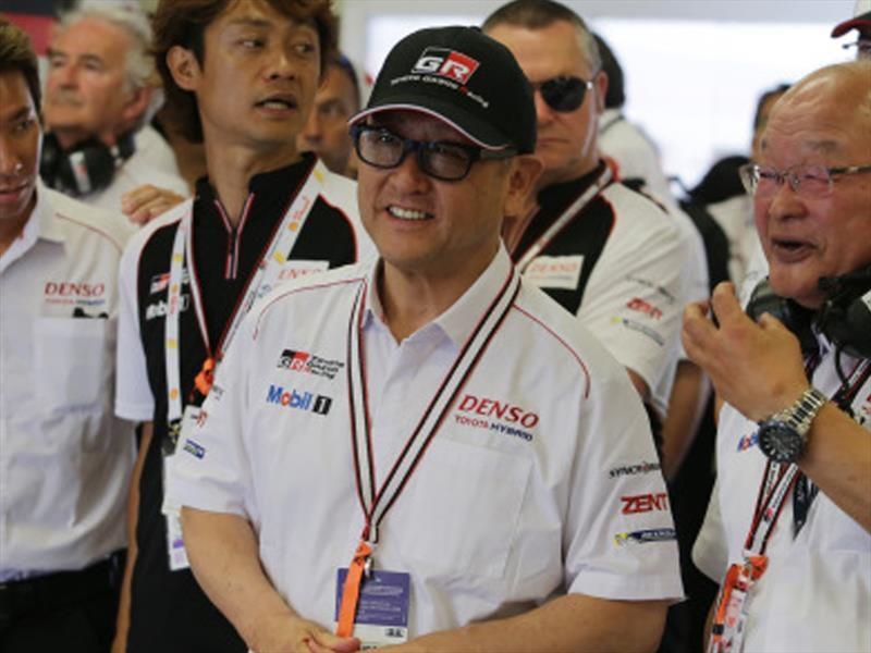 Lo que dijo Akio Toyoda CEO de Toyota sobre Le Mans 2017
