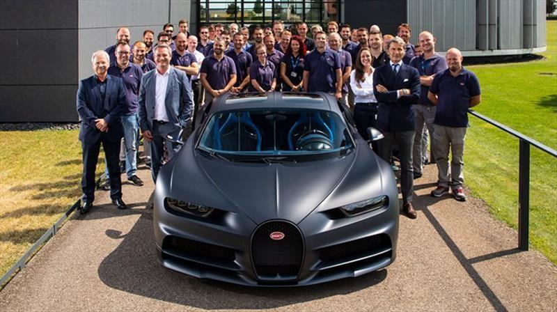 Bugatti llega a 200 unidades producidas del Chiron