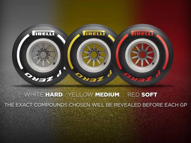 F1 2019: Pirelli simplifica los nombres de los neumáticos