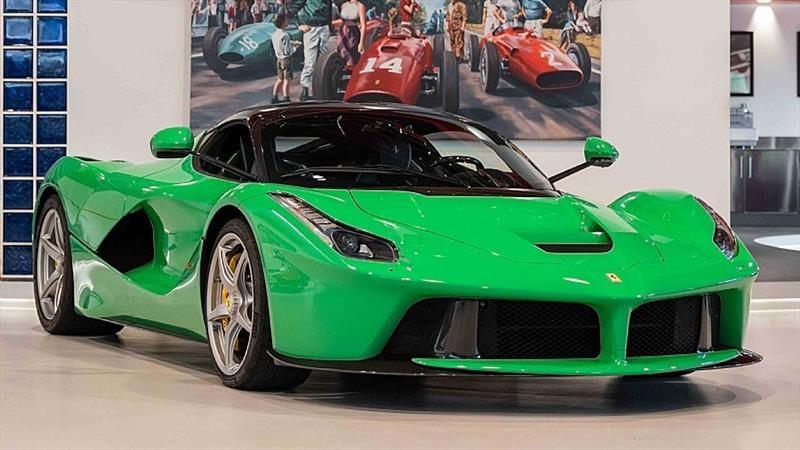 Jay Kay pone la venta su llamativo Ferrari LaFerrari color verde