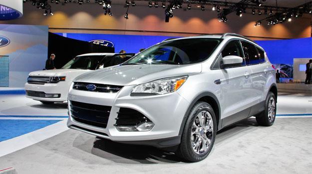 Ford Escape 2013 debuta en el Salón de Los Angeles