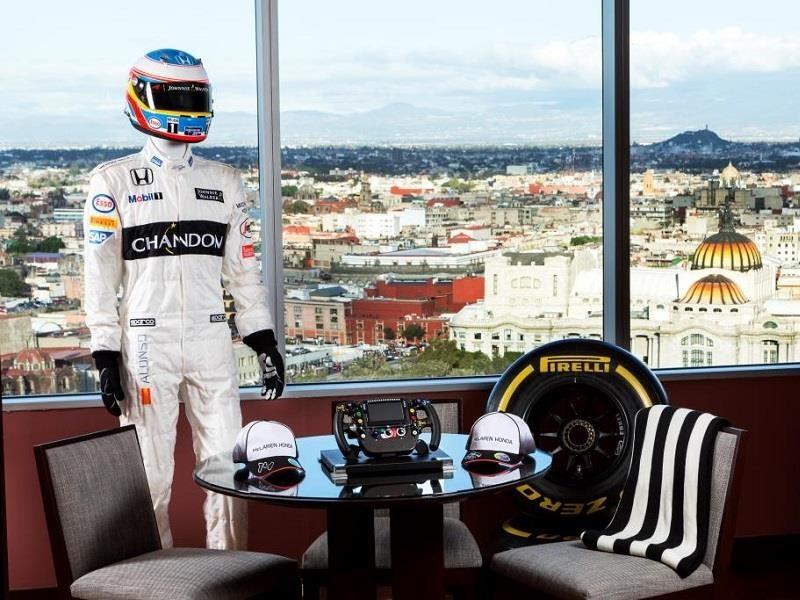 Conoce la Suite F1 McLaren-Honda