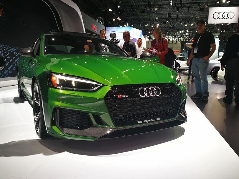 Audi RS5 Sportback, un coupé de alto rendimiento