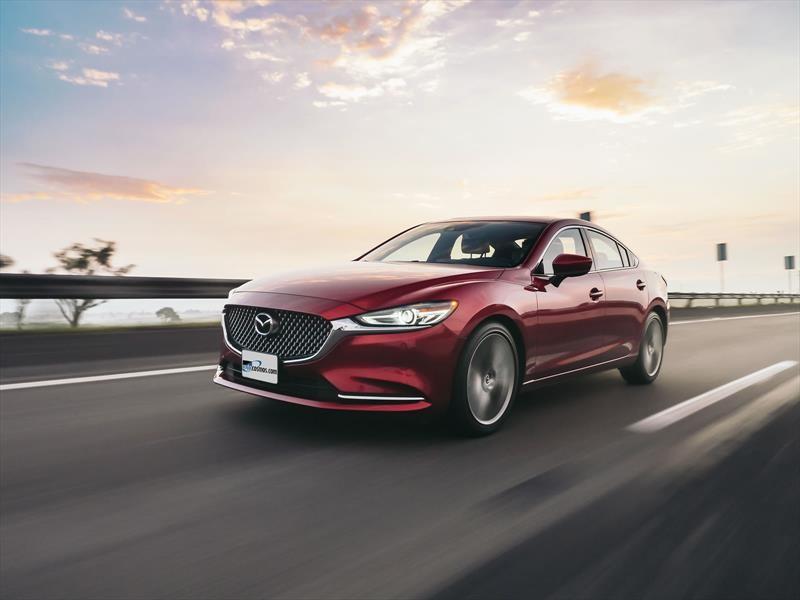 Manejamos el Mazda 6 2019