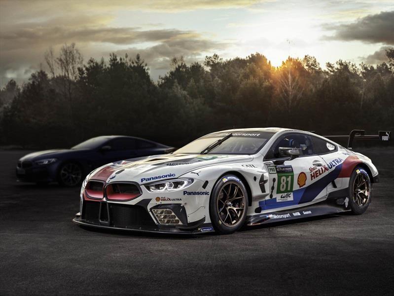 BMW Serie 8 Coupé debutará previo a las 24 Horas de Le Mans