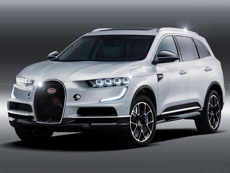 La SUV de Bugatti, podría convertirse en una realidad