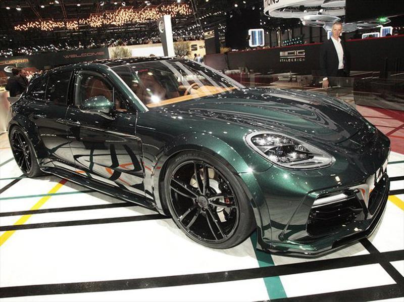 Porsche Panamera Sport Turismo por Techart, más y más poder