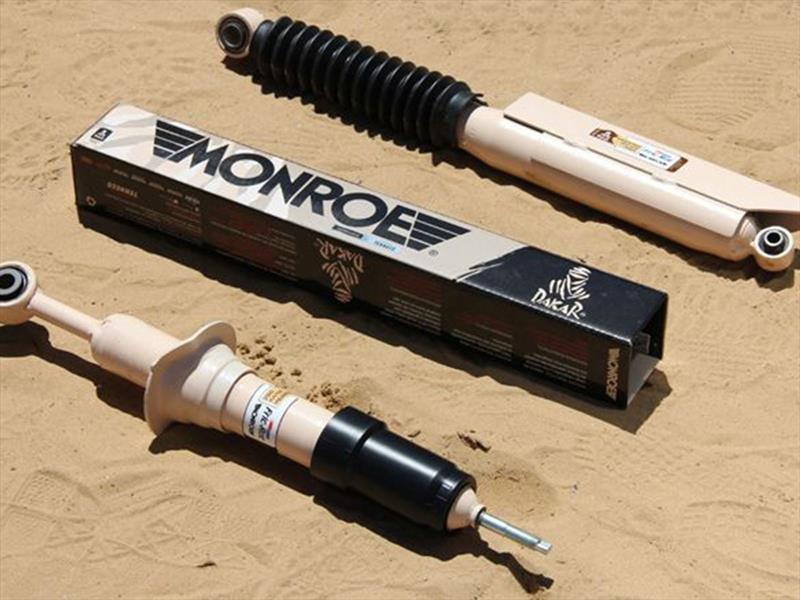 Monroe es el amortiguador oficial del Dakar 2018