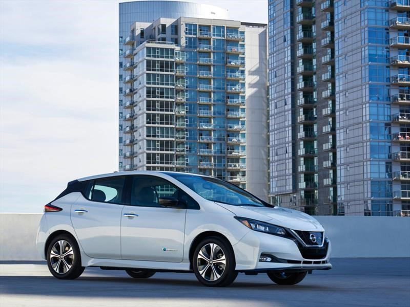 Nissan LEAF, con mayor autonomía, está en el CES 2019