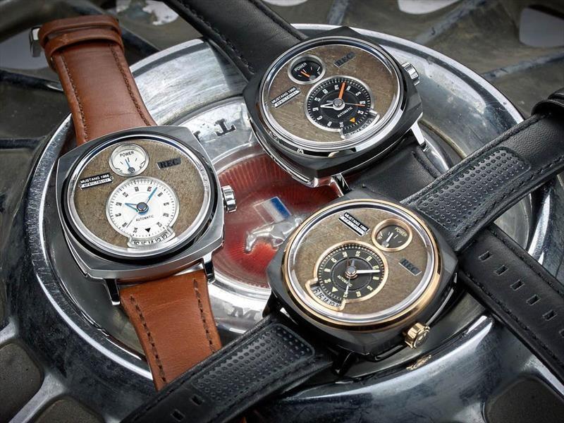 REC Watches presenta reloj inspirado en el Ford Mustang