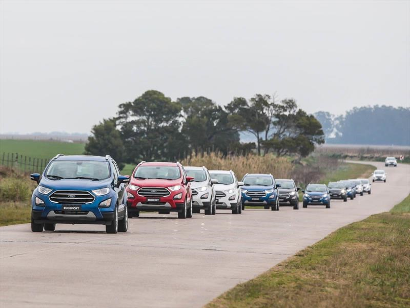 Nueva Ford Ecosport 2018, primera impresión de manejo