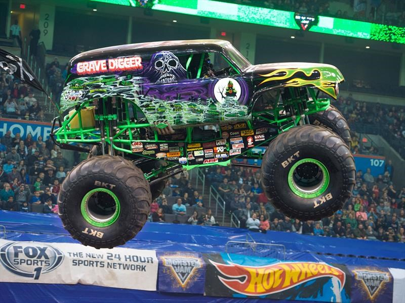 Llega a chile monster jam trucks exhibici n de camionetas - Pagina da colorare di monster truck ...