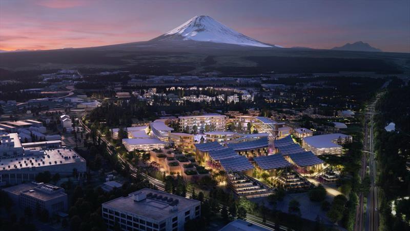 Toyota construye la ciudad del futuro con casas inteligentes, robots y vehículos autónomos