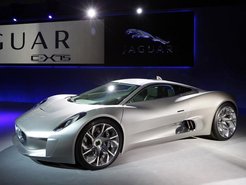 Jaguar C X75 Concept El Auto Del Villano De La Nueva
