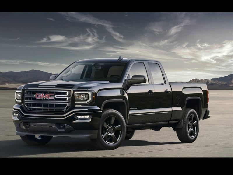 gmc sierra elevation edition 2016 un pick up exclusivo. Black Bedroom Furniture Sets. Home Design Ideas
