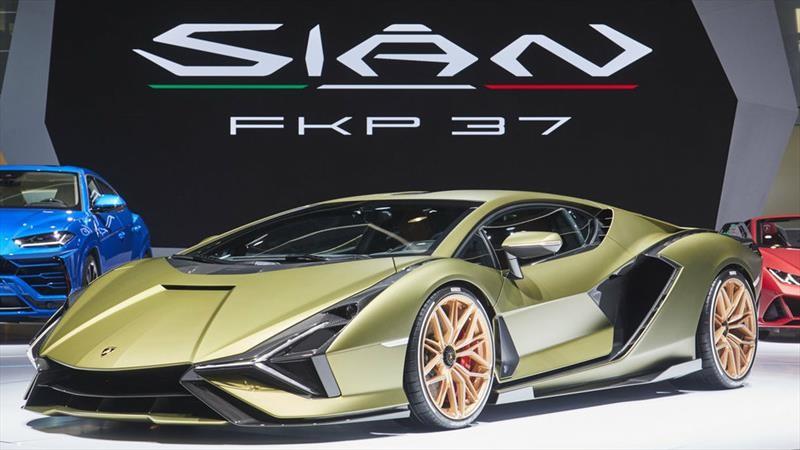 Cuál es la razón por la que el Lamborghini Sián lleva la designación FKP 37