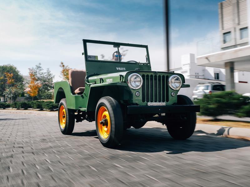 Jeep Willys CJ-2A, el primer vengador