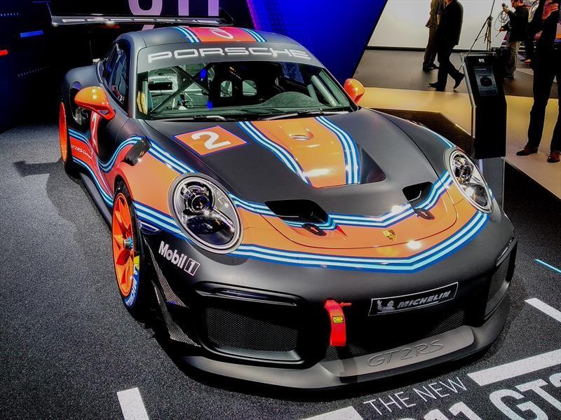 Porsche 911 GT2 RS Clubsport, el nueve-once más potente