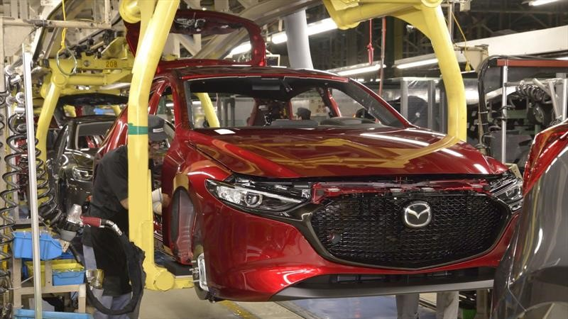 Mazda suspende la producción en Japón, México y Tailandia debido al coronavirus
