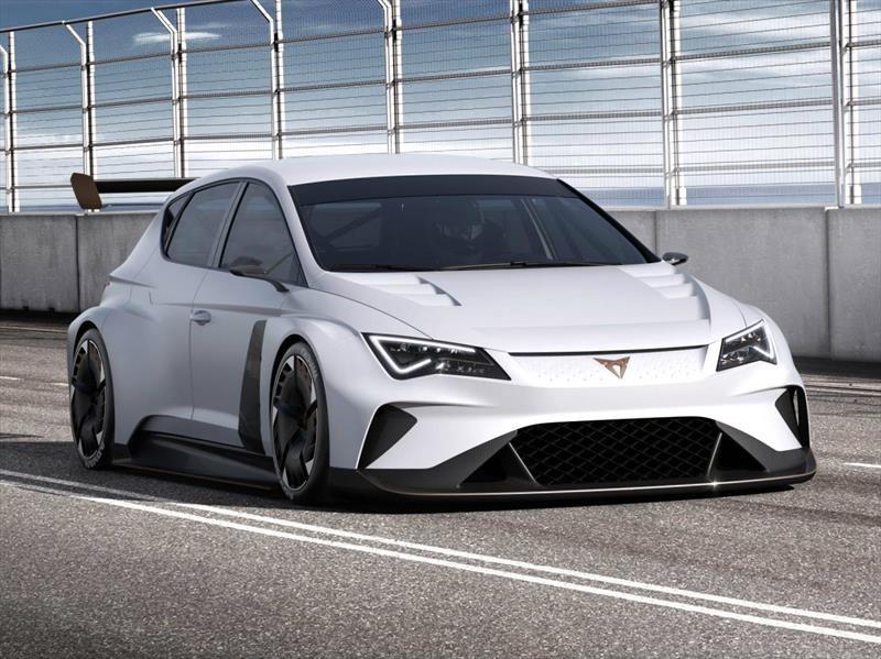 CUPRA e-Racer, el primer auto de carreras eléctrico