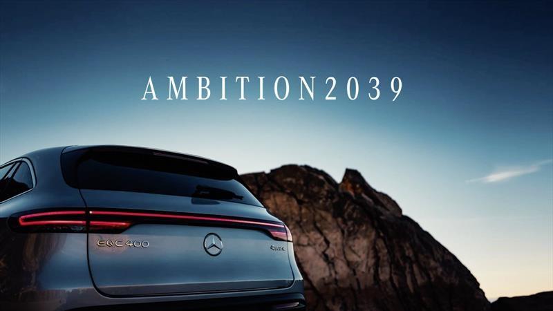 Para 2039, Mercedes-Benz solo venderá automóviles y SUVs eléctricos