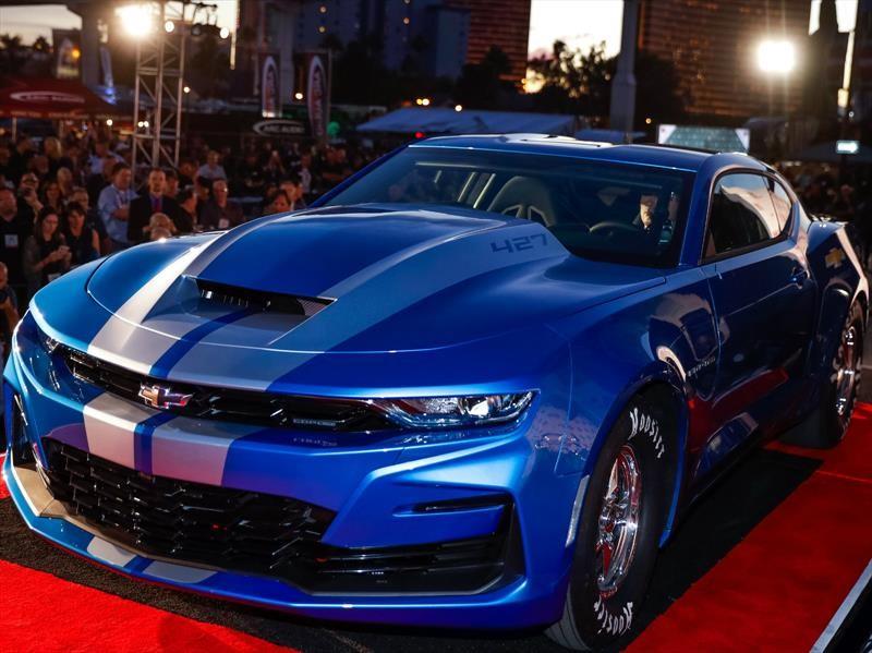 eCOPO Camaro Concept es el electrizante dragster de Chevrolet