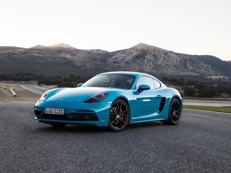 Porsche 718 Cayman GTS 2018 debuta