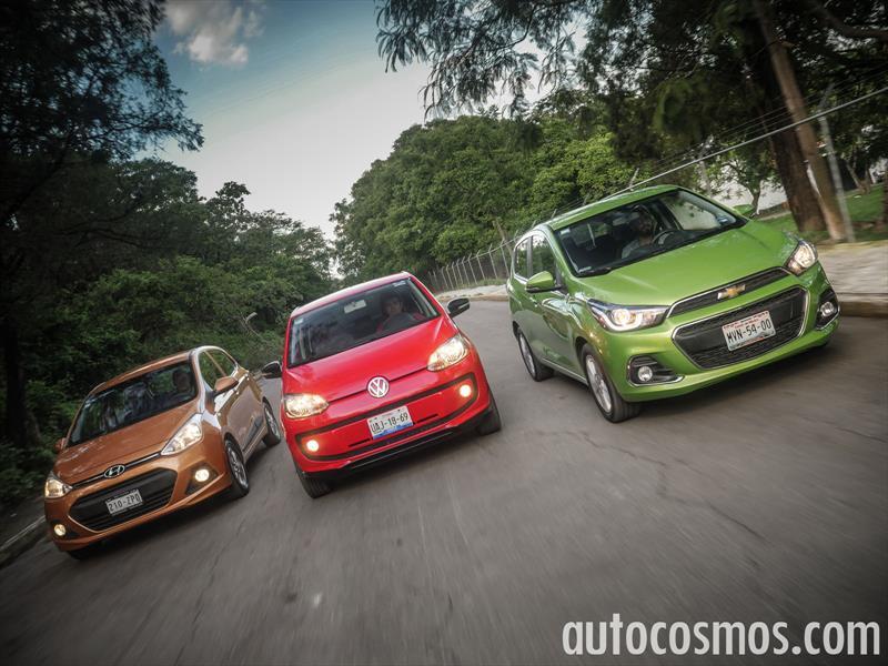 Comparativa: Chevrolet Spark vs Volkswagen up! vs Hyundai Grand i10