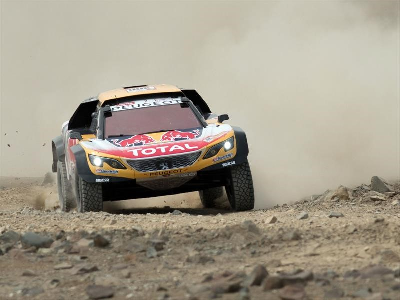 Así es el dream Team Peugeot Total del Dakar 2018