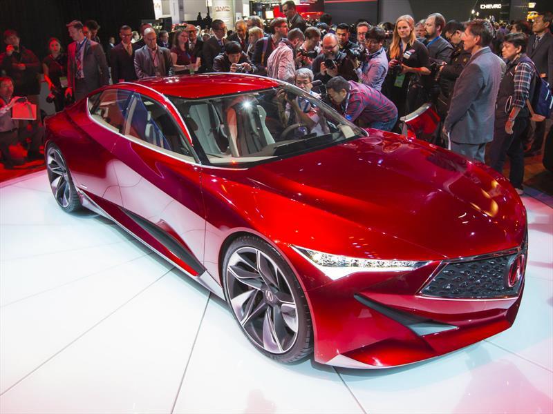 Acura Precision Concept, un prototipo radiante