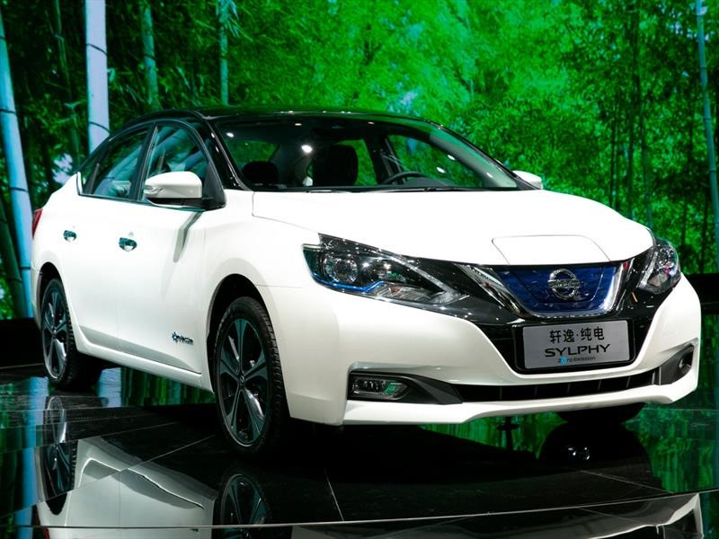 Nissan Sylphy EV, modelo exclusivo para China