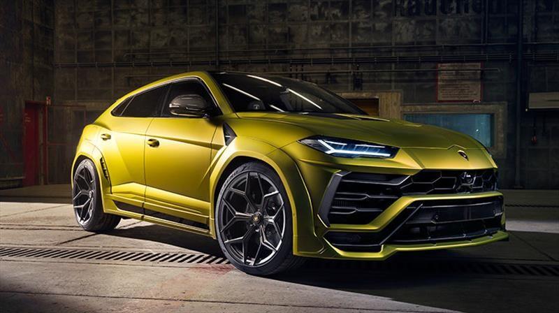 Lamborghini Urus por Novitec: mejora en desempeño, imagen y aerodinámica