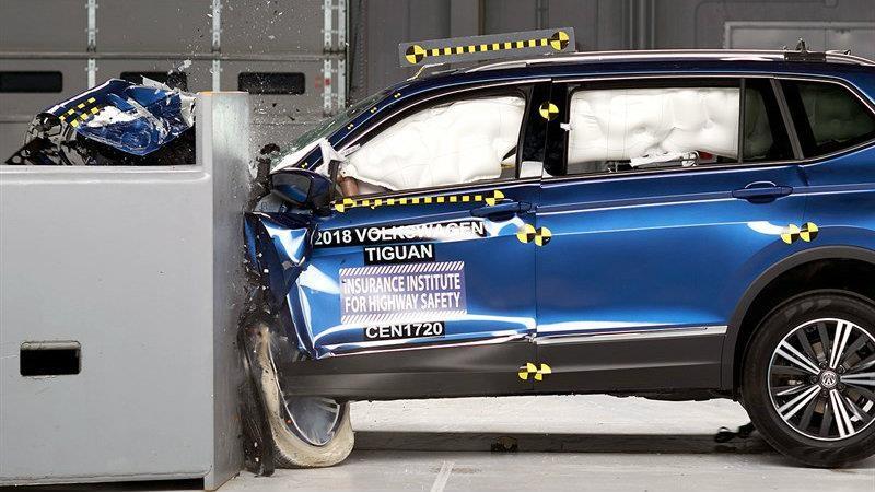 Volkswagen Tiguan 2019 obtiene el el Top Safety Pick+ Plus del IIHS