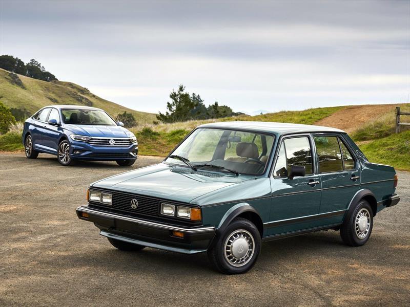 Volkswagen Jetta, las diferencias entre la primera y última generación