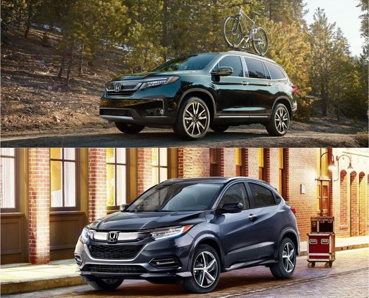 Honda actualiza sus modelos Pilot y HR-V