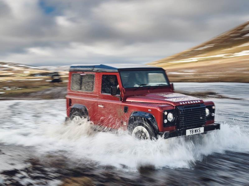 Vuelve: Land Rover Defender V8, para celebrar 70 años de la marca