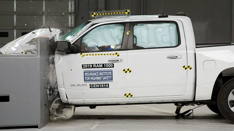Ram 1500 2020 es el primer pickup full size en obtener el Top Safety Pick Plus del IIHS