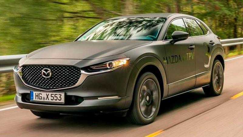 Mazda anticipa su futuro con un CX-30 eléctrico