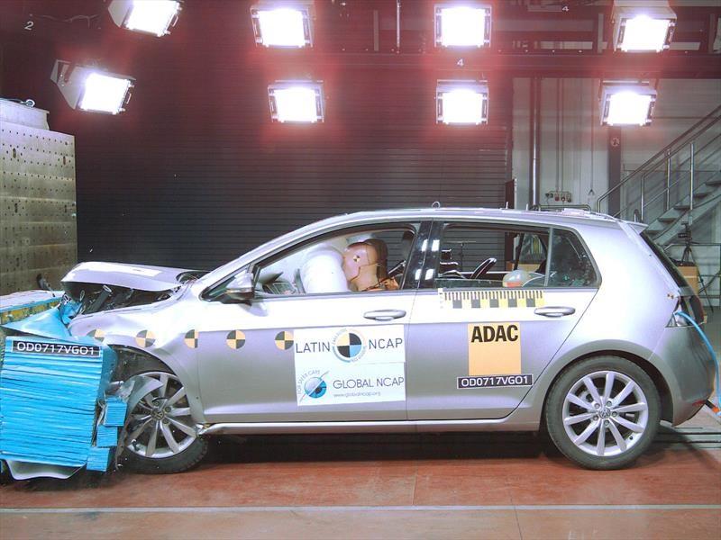 Volkswagen Golf recibe 5 estrellas en las pruebas de Latin NCAP