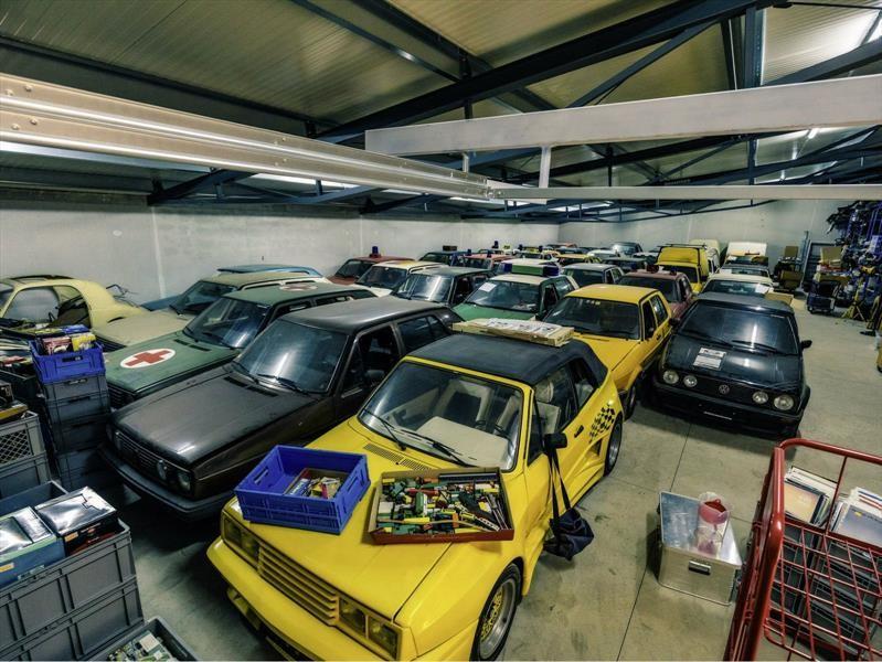 Esta es la colección de Volkswagen Golf clásicos más grande del planeta
