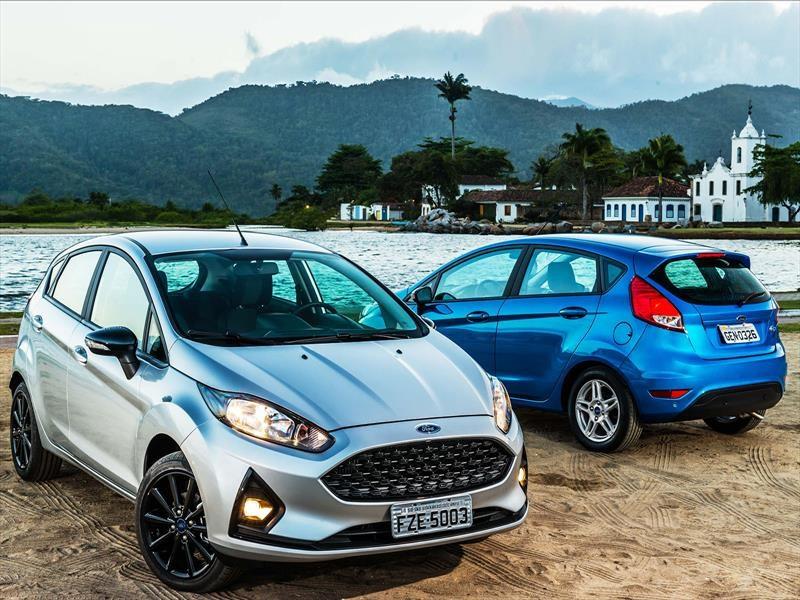 El Ford Fiesta 2018 se actualiza en Brasil