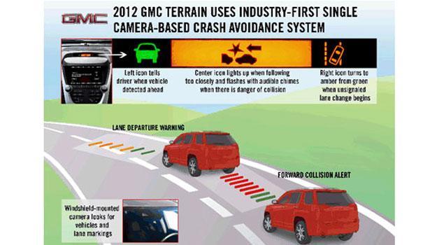 GM desarrolla sistema de alerta anti impactos