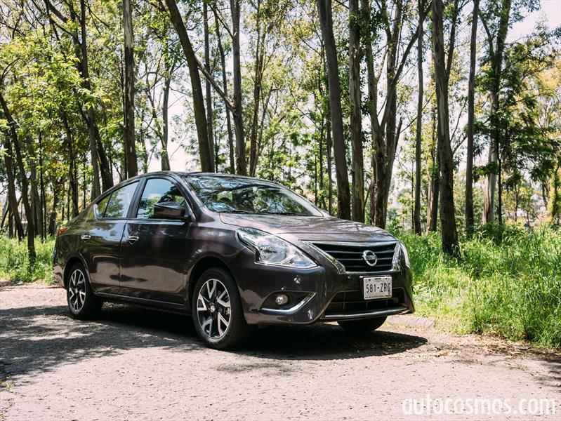 Nissan Versa 2015 a prueba