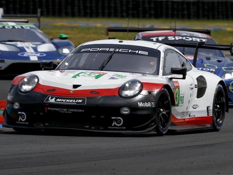 Porsche 911 RSR, en pista, es el nueve-once más rápido de la historia
