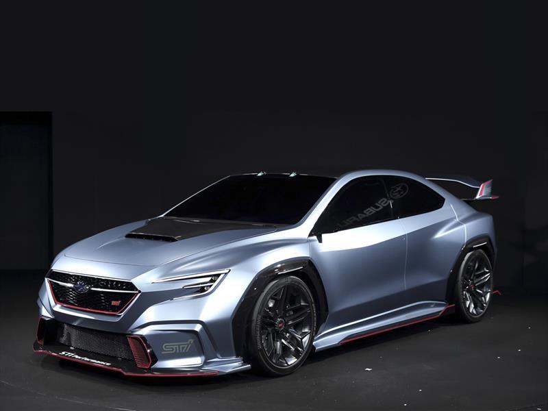 Subaru Viziv Performance STi Concept el futuro de la marca